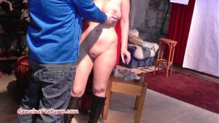 Czech 24 Years Old Amateur Shows Her Big Boobs at the Audition