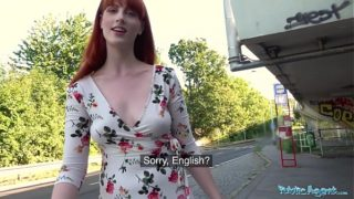 Outside Agent Dirty Sexy American Redhead Beauty Alex Harper